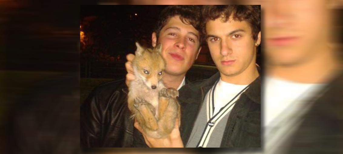 ragazzi trovano e salvano cucciolo di volpe