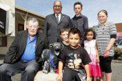 la storia di george, il jack russel che salva dei bambini da un attacco di pitbull